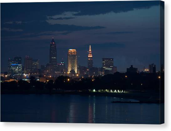 Cleveland Reflections Canvas Print