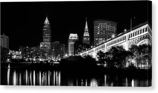 Cleveland Skyline Canvas Print