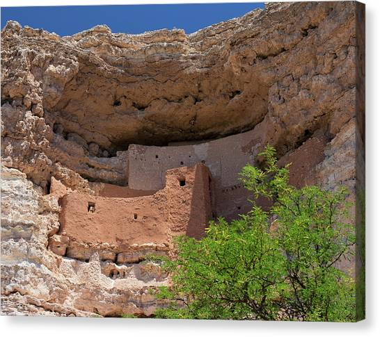 Cliff Dwellings Canvas Print