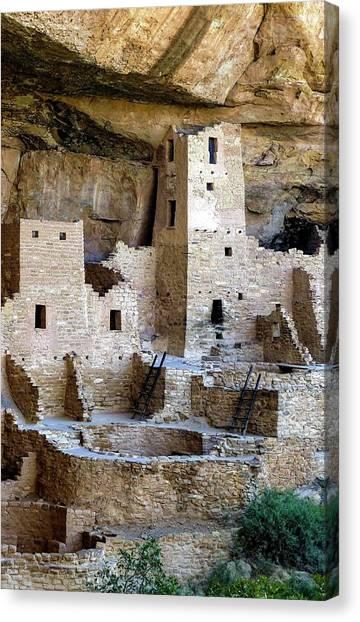 Cliff Palace Mesa Verde Canvas Print