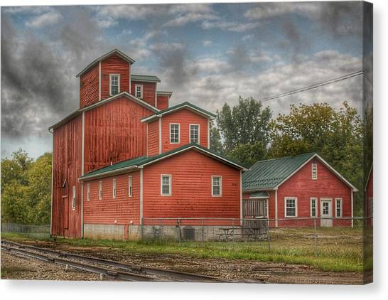 2007 - Aside The Tracks In Clifford Canvas Print