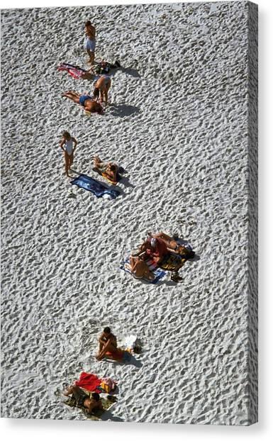 Clifton Beach, Cape Town Canvas Print