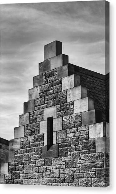 Canvas Print featuring the photograph Climbing The Castle by Christi Kraft