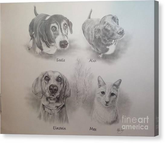 Cline Pets Canvas Print