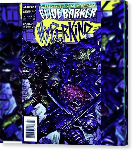 Cyberpunk Canvas Print - Clive Barker's hyperkind. This Is by XPUNKWOLFMANX Jeff Padget