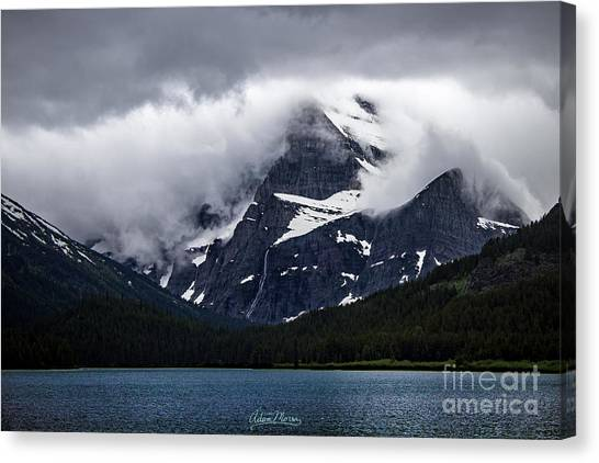 Cloaked In Storm Canvas Print