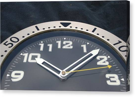 Clock Canvas Print - Clock Face by Rob Hans