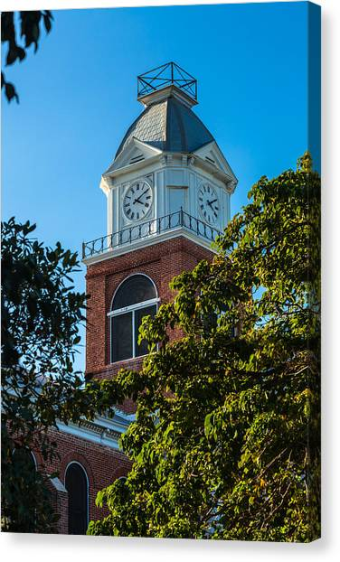 Monroe County Courthouse Canvas Prints | Fine Art America