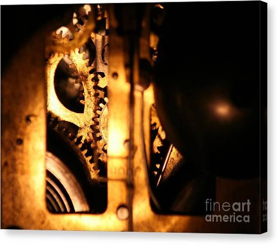 Clockwork Canvas Print by Jason Williams
