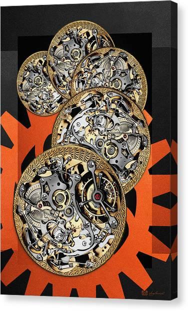 Clockwork Orange Canvas Print - Clockwork Orange - 3 Of 4 by Serge Averbukh