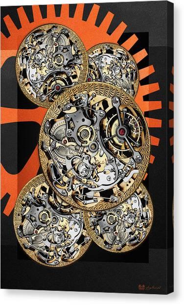 Clockwork Orange Canvas Print - Clockwork Orange - 4 Of 4 by Serge Averbukh