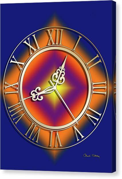 Clockwork Orange Canvas Print - Clockwork Orange by Chuck Staley