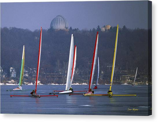 Close Encounters - Lake Geneva Wisconsin Canvas Print