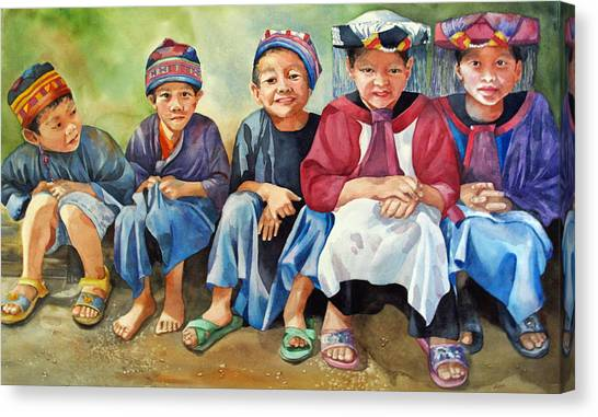 Close Thais Canvas Print