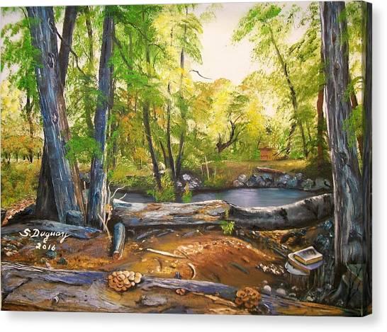 Close To God's Nature Canvas Print