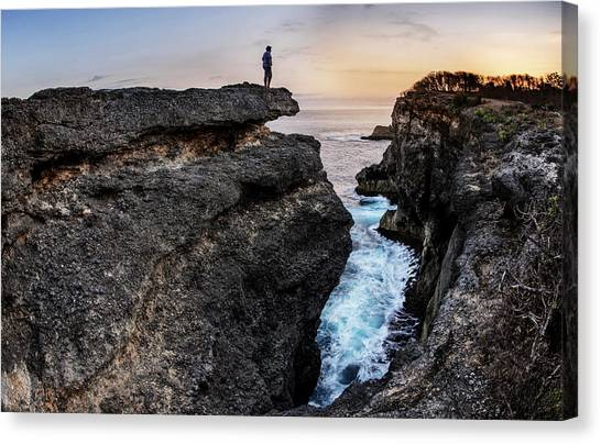 Canvas Print featuring the photograph Close To Nature by Pradeep Raja Prints