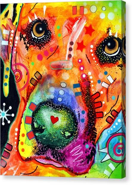 Close Up Lab Warpaint Canvas Print