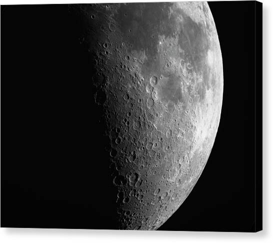 Close-up Of Moon Canvas Print