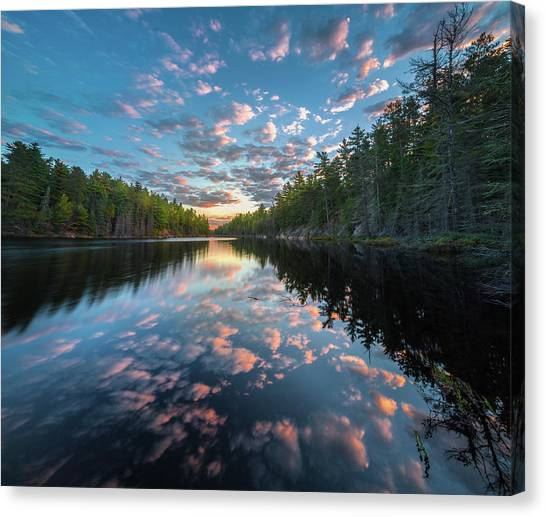 Cloud Atlas // Bwca, Minnesota Canvas Print