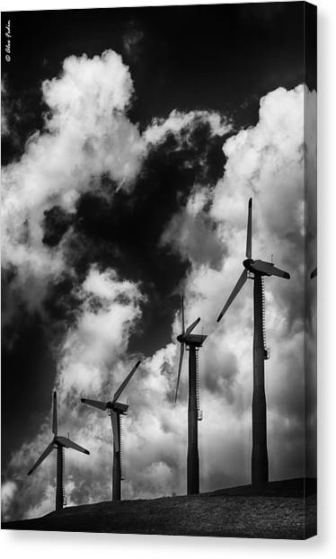 Cloud Blowers Canvas Print