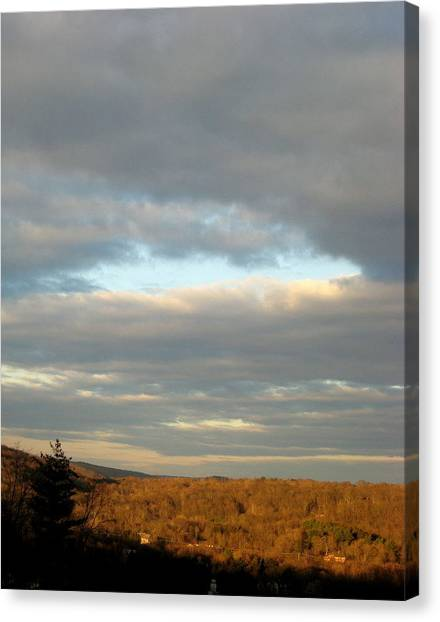 Cloud Break Canvas Print by Marcia Crispino