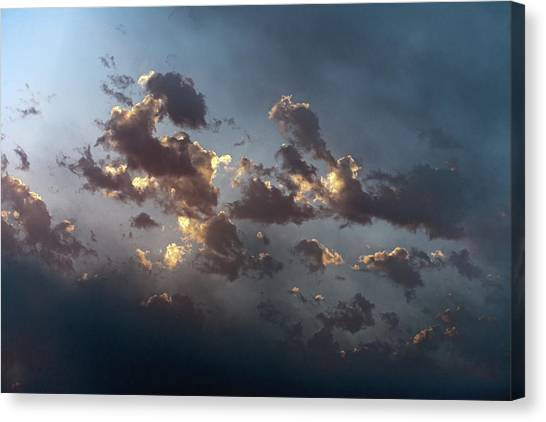 Canvas Print - Cloud Mood by Daniel Furon