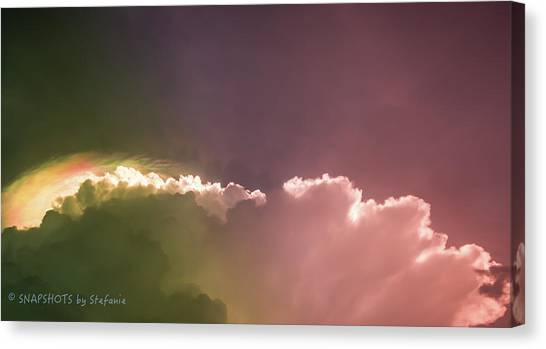 Cloud Eruption Canvas Print