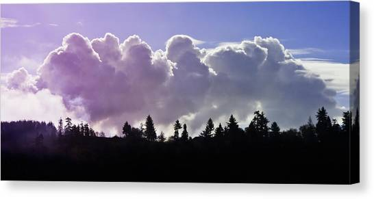 Cloud Express Canvas Print
