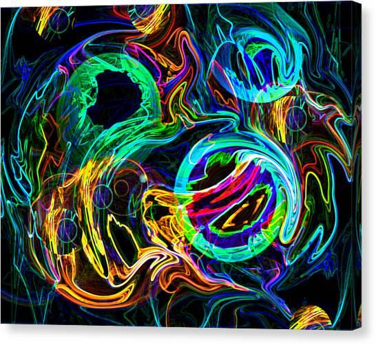 Cloud Fire Canvas Print by Lynda Lehmann