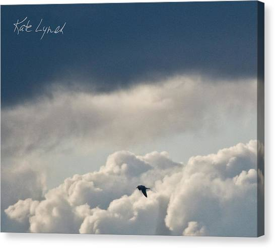 Cloud Flyer Canvas Print