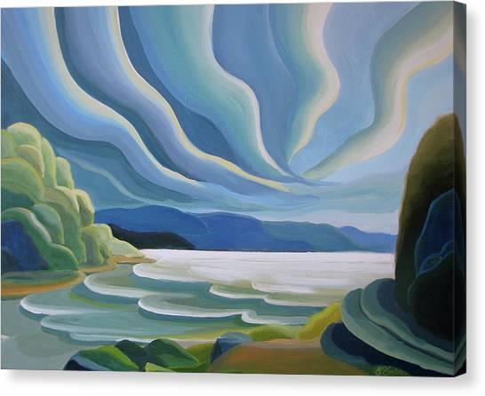 Cloud Forms Canvas Print