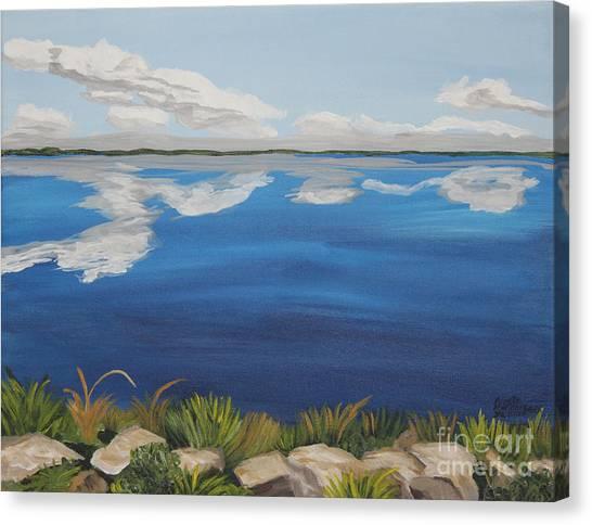 Cloud Lake Canvas Print