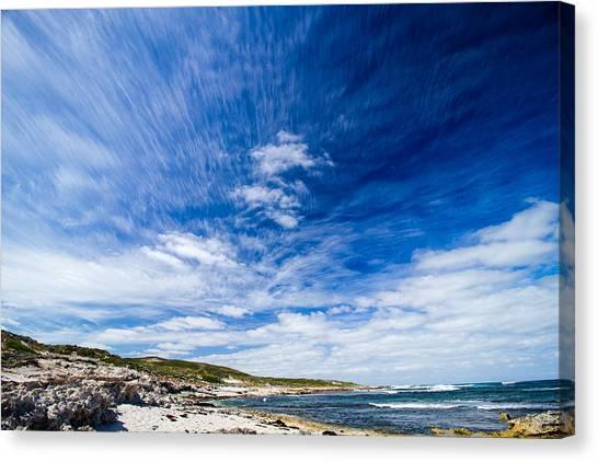 Ocean Sunrises Canvas Print - Cloud Porn by Mik Rowlands