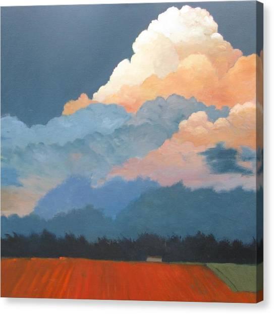 Cloud Rising Canvas Print