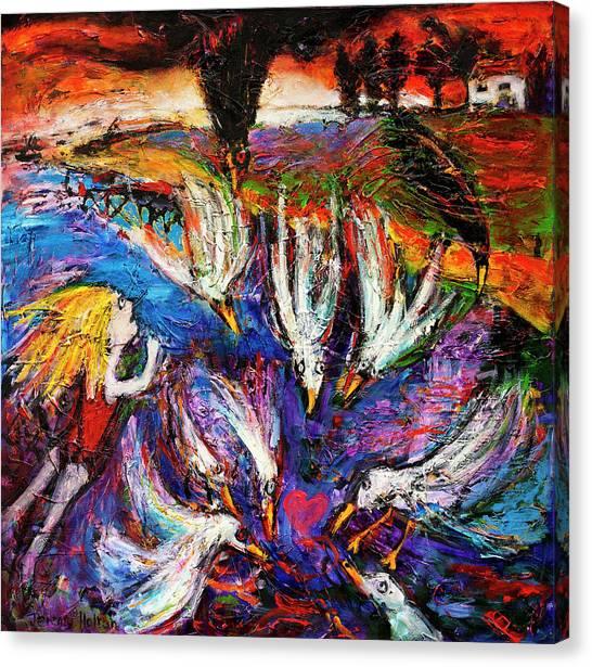Cloud Street - Geraldton Seagulls Canvas Print