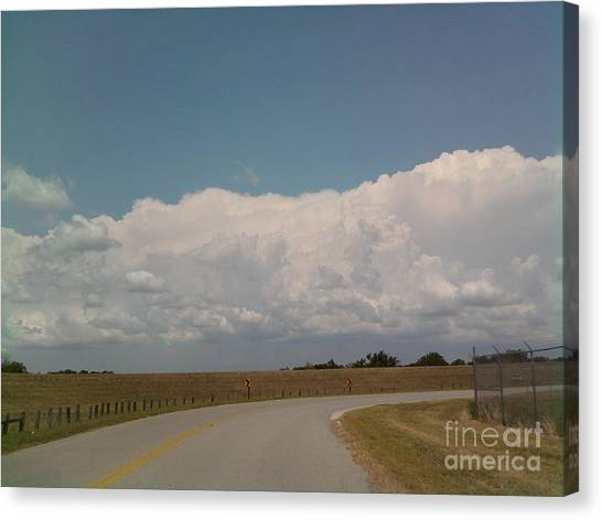 Cloudbank Canvas Print