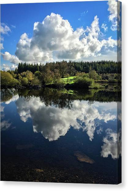 Clouded Visions Canvas Print