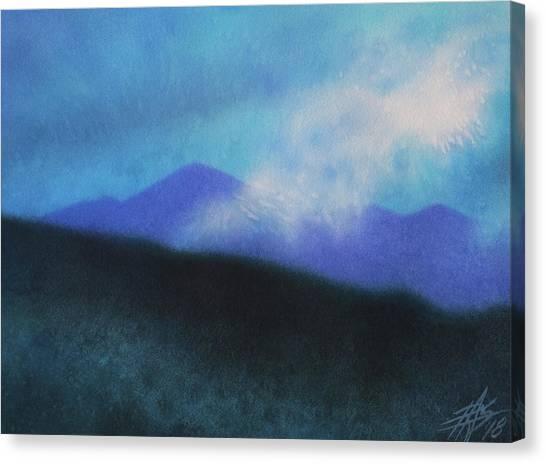 Cloudline IIi Canvas Print by Robin Street-Morris