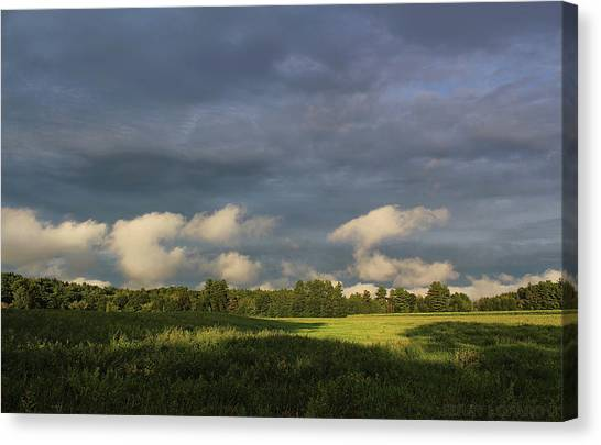 Storm Clouds Canvas Print - Cloudline by Jerry LoFaro