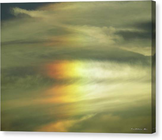 Clouds And Sun Canvas Print