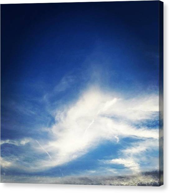 Heaven Canvas Print - Angel by Kimberly  W