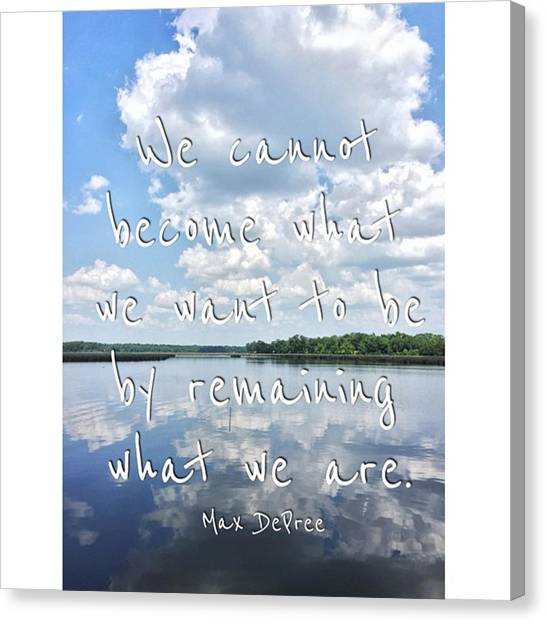 Swamps Canvas Print - #clouds #enlight #quotes #bayou by Joan McCool