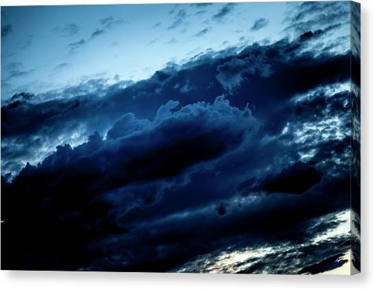 Clouds Fall Canvas Print