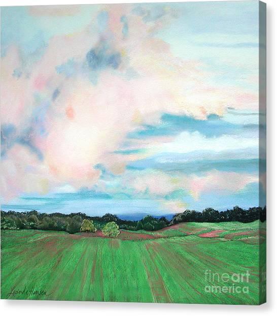 Clouds I Canvas Print by Lucinda  Hansen