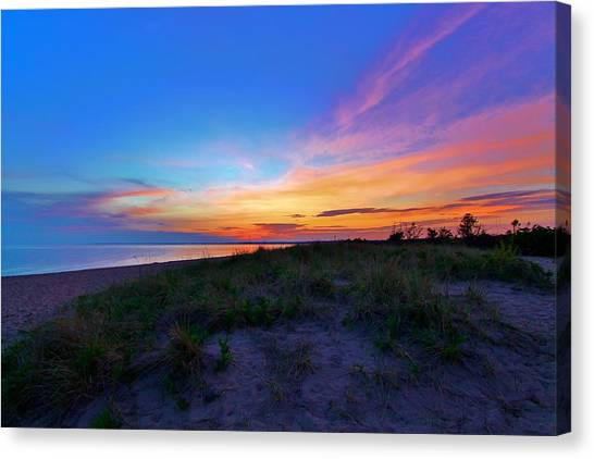 Clouds Of Color Canvas Print