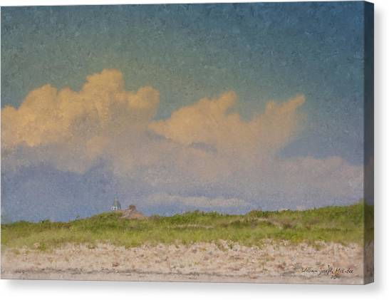 Clouds Over Goosewing Canvas Print