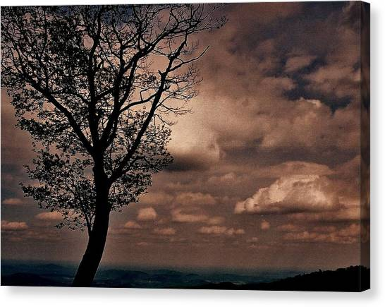 Clouds Over Shenandoah Canvas Print