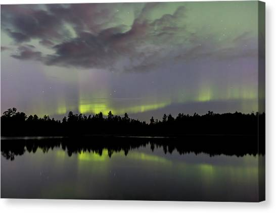 Clouds Over The Lights Canvas Print