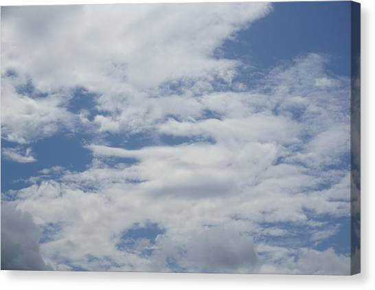 Clouds Photo II Canvas Print