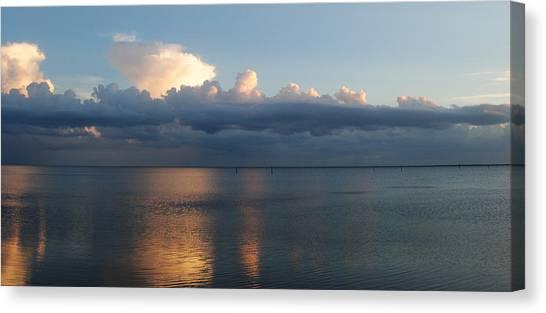 Clouds Canvas Print by Steven Scott